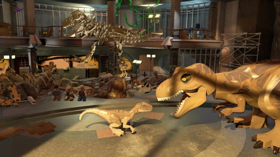 LEGO Jurassic World Review - Screenshot 4 of 5