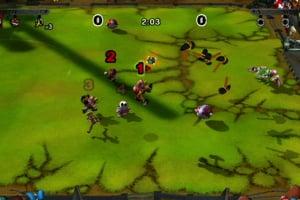 Mario Strikers Charged Screenshot