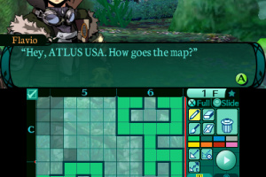 Etrian Odyssey 2 Untold: The Fafnir Knight Screenshot