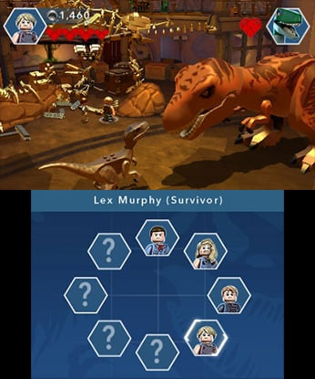Lego jurassic world review 3ds nintendo life lego jurassic world review screenshot 1 of 4 gumiabroncs Gallery