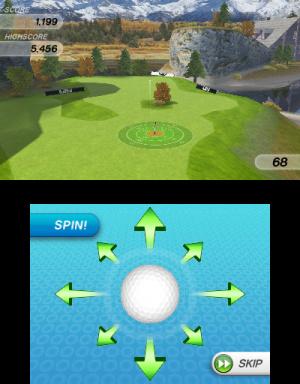 Flick Golf 3D Review - Screenshot 2 of 3
