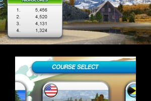 Flick Golf 3D Screenshot
