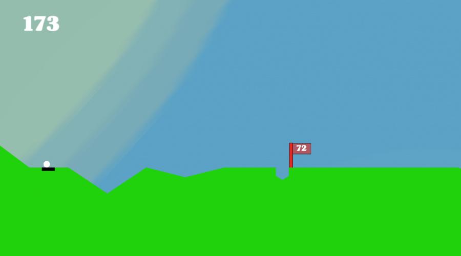 Endless Golf Review - Screenshot 2 of 4