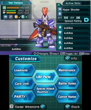 LBX: Little Battlers eXperience Review - Screenshot 1 of 4