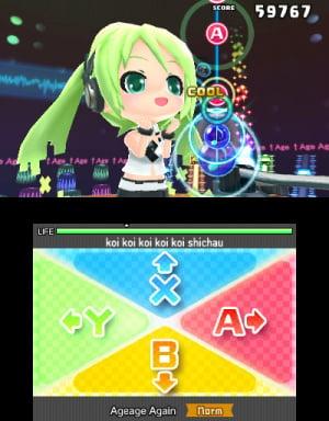Hatsune Miku: Project MIRAI DX Review - Screenshot 1 of 9