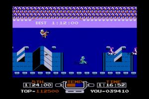 VS. Excitebike Screenshot