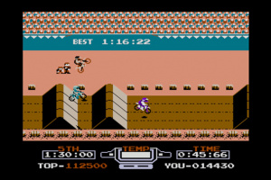 VS. Excitebike Screenshot