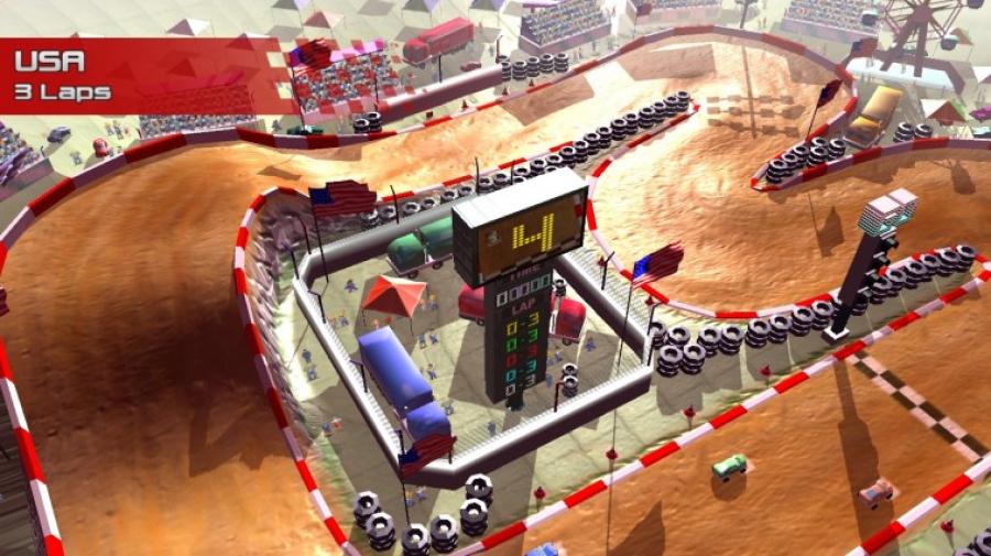 Rock 'N Racing Off Road DX Review - Screenshot 2 of 2
