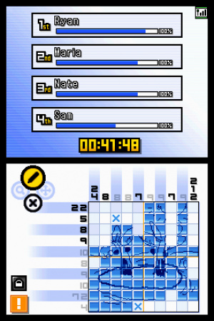 Picross DS Review - Screenshot 2 of 3
