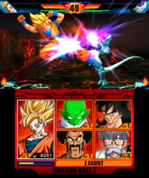Dragon Ball Z: Extreme Butoden Review - Screenshot 2 of 6