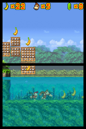 DK: Jungle Climber Review - Screenshot 1 of 3