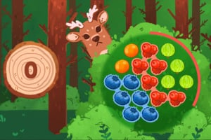 Cutie Pets Pick Berries Screenshot