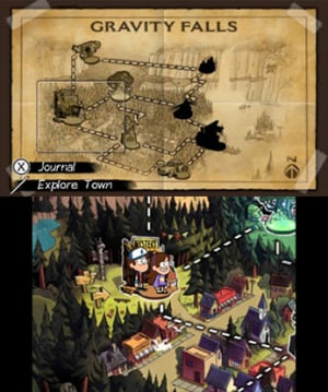Gravity Falls: Legend of the Gnome Gemulets Review - Screenshot 2 of 5