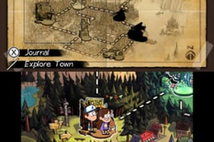 Gravity Falls: Legend of the Gnome Gemulets Screenshot