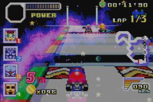 Konami Krazy Racers Screenshot