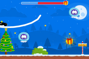 Christmas Adventure of Rocket Penguin Screenshot