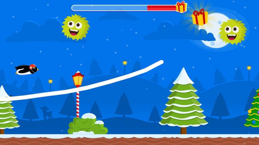 Christmas Adventure of Rocket Penguin Review - Screenshot 1 of 2