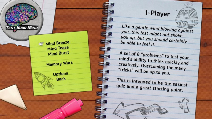 Test Your Mind Review - Screenshot 2 of 3