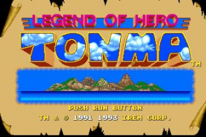 Legend of Hero Tonma Screenshot