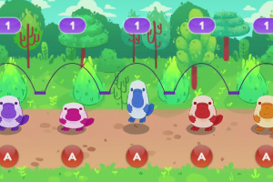 Cutie Pets Jump Rope Screenshot