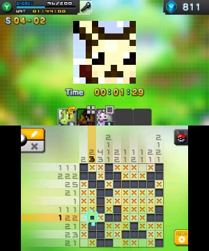 Pokémon Picross Review - Screenshot 3 of 5