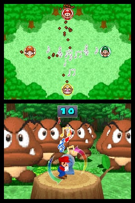 Mario Party DS Screenshot