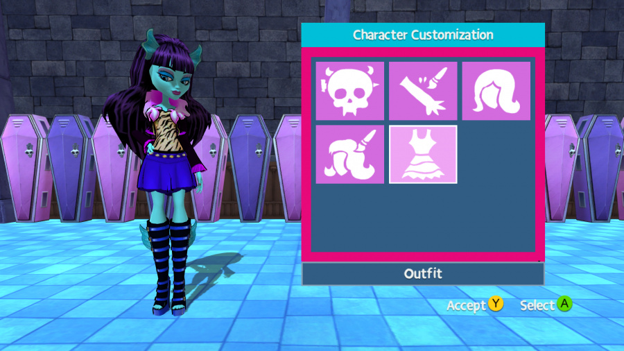 Monster High: New Ghoul in School Review - Screenshot 1 of 6