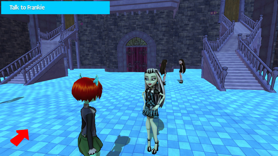 Monster High: New Ghoul in School Review - Screenshot 1 of 7