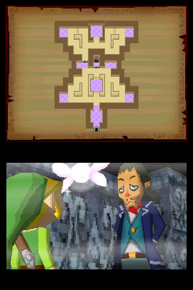 The Legend of Zelda: Phantom Hourglass Screenshot
