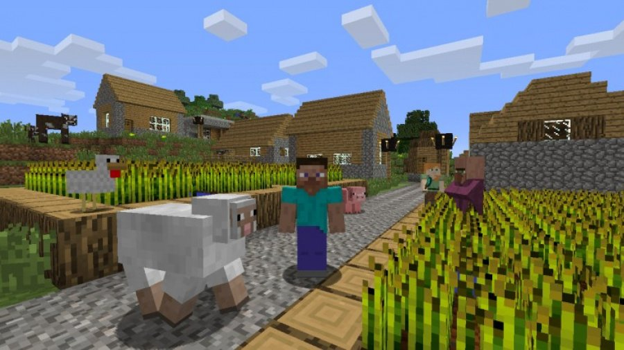 Minecraft: Wii U Edition Review - Screenshot 1 of 3