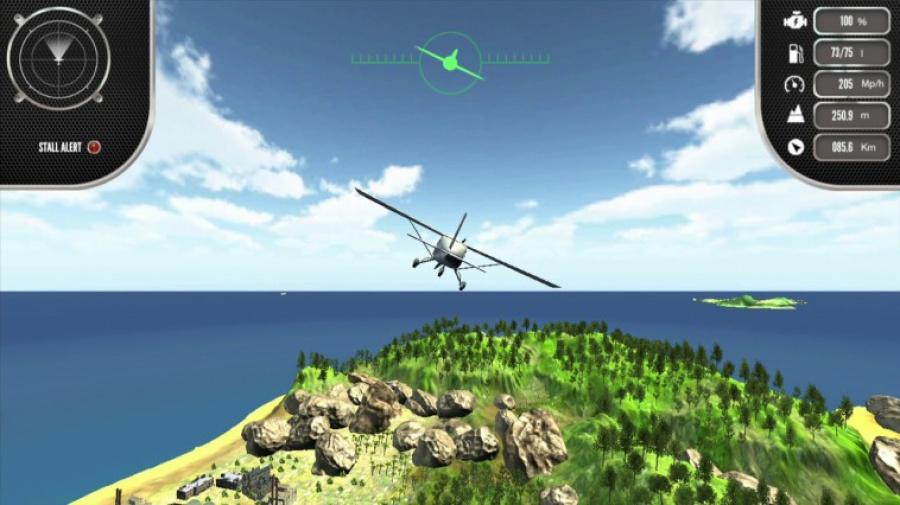 Island Flight Simulator Review - Screenshot 1 of 3