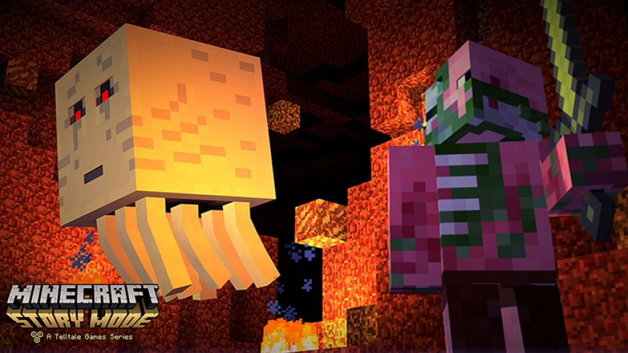 Minecraft: Story Mode - Episode 1: The Order of the Stone Review - Screenshot 1 of 3