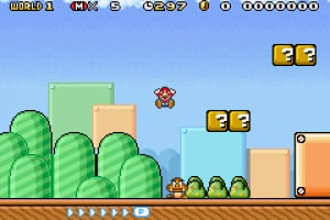 Super Mario Advance 4: Super Mario Bros. 3 Screenshot