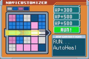 Mega Man Battle Network 6: Cybeast Falzar / Gregar Screenshot