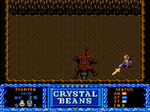 Crystal Beans From Dungeon Explorer Review - Screenshot 2 of 5