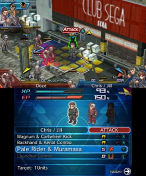 Project X Zone 2 Review - Screenshot 1 of 5