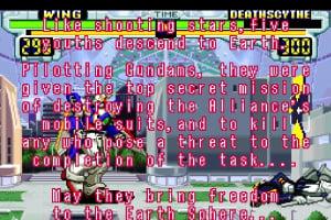 Gundam Wing: Endless Duel Screenshot