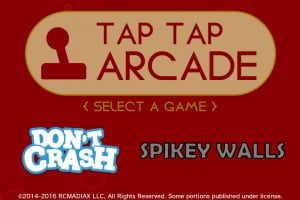 TAP TAP ARCADE Screenshot