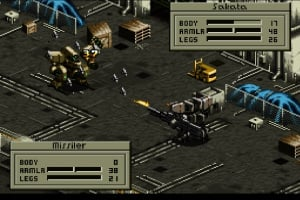 Front Mission Screenshot