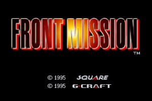 Front Mission Screenshot