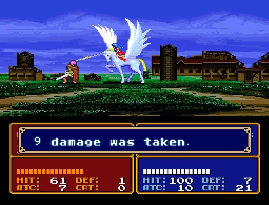 Fire Emblem: Mystery Of The Emblem (SNES / Super Nintendo