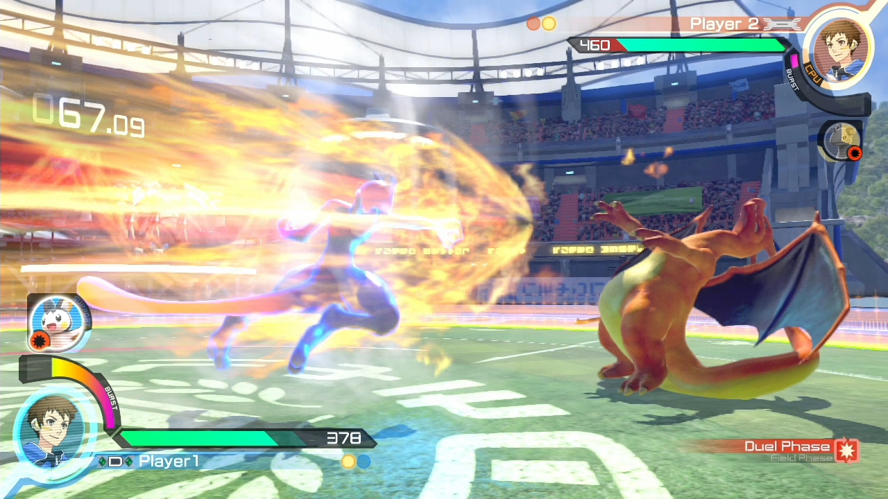 Image result for Pokkén Tournament DX  screenshot