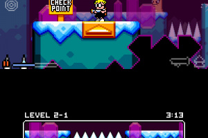Mutant Mudds Super Challenge Screenshot
