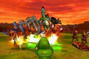 Hyrule Warriors Legends Screenshot