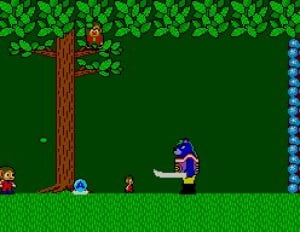 Alex Kidd in Miracle World Review - Screenshot 1 of 3