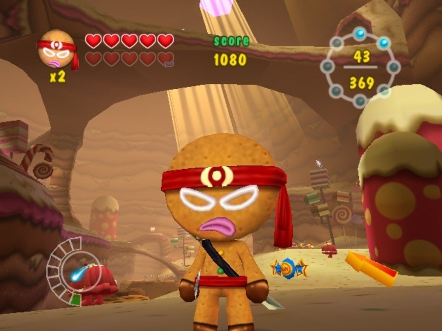 Ninjabread Man Screenshot