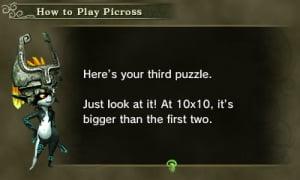 My Nintendo Picross: The Legend of Zelda: Twilight Princess Review - Screenshot 3 of 3