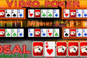 6-Hand Video Poker Screenshot