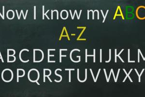 Now I know my ABCs Screenshot