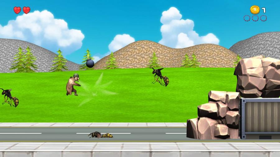 Epic Dumpster Bear Review - Screenshot 1 of 3